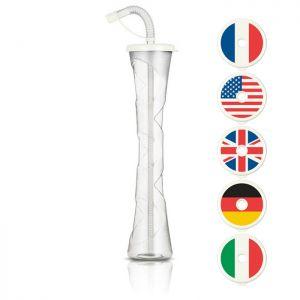 Kielich Flaga 400ml biały
