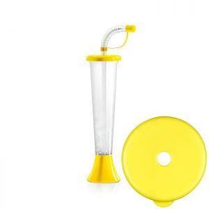 Kielich Płaski 250ml żółty