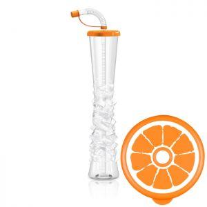 Kielich Fruit 500 ml pomarańczowy