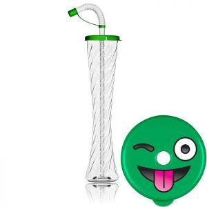 Kielich Emotikon 350ml zielony