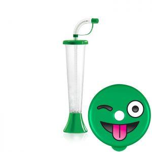 Kielich Emotikon 250ml zielony