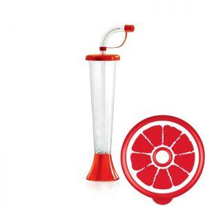 Kielich Cytrus 250 ml czerwony