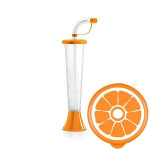 Kielich Cytrus 250 ml pomarańczowy