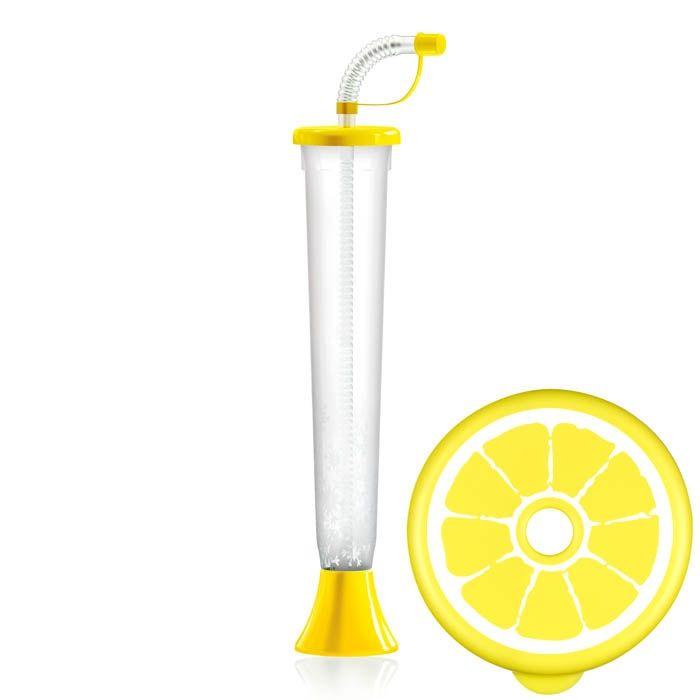 Kielich Cytrus 400ml składany żółty 108 szt.
