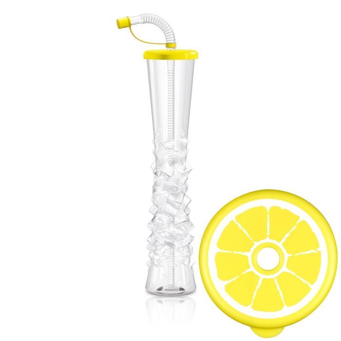 Kielich Cytrus 500 ml żółty 54 szt.