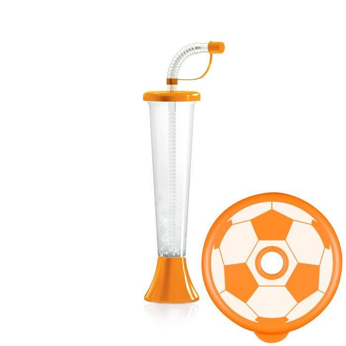 Kielich Piłka 250 ml pomarańczowy 108 szt.
