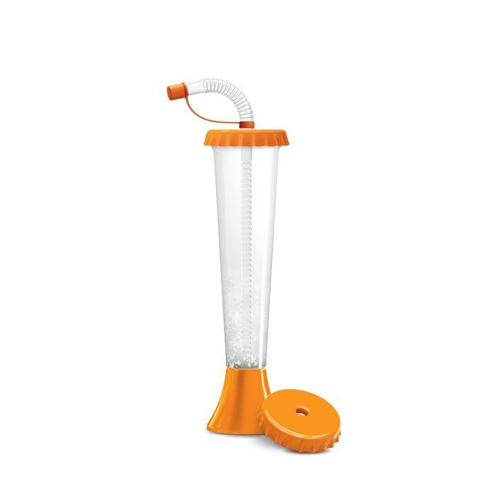 Kielich Kapsel 250 ml pomarańczowy 108 szt.