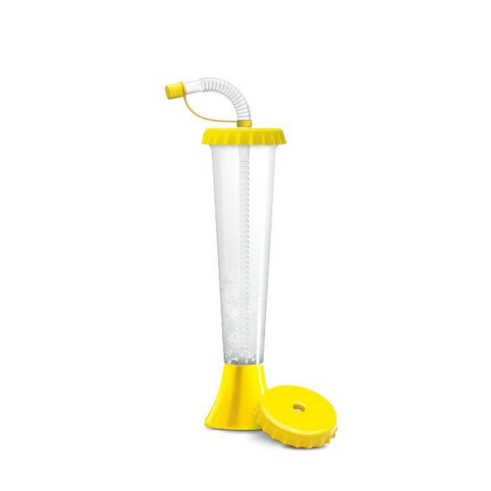 Kielich Kapsel 250 ml żółty 108 szt.