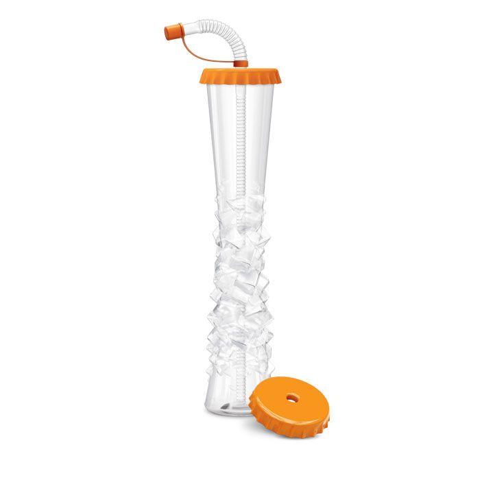 Kielich Kapsel 500 ml pomarańczowy 54 szt.
