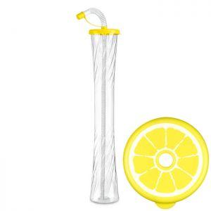 Kielich Cytrus 600 ml żółty 54 szt.
