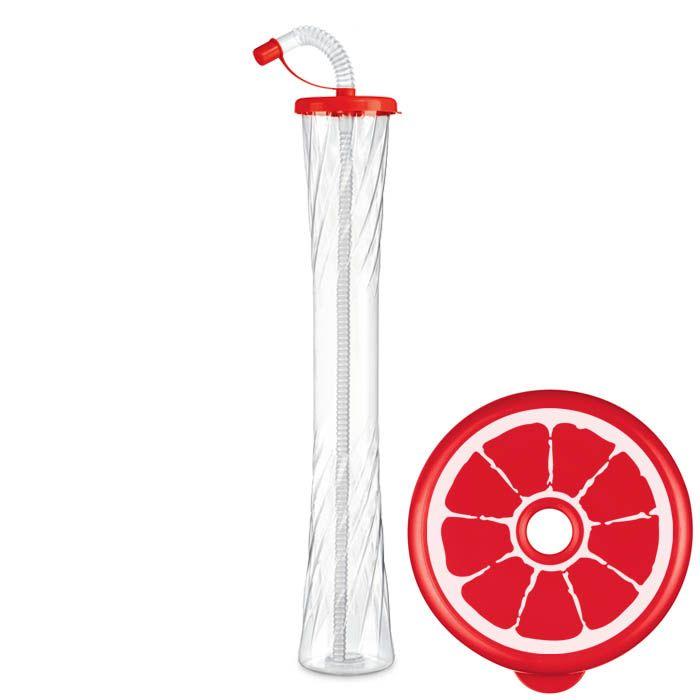 Kielich Cytrus 600 ml czerwony 54 szt.