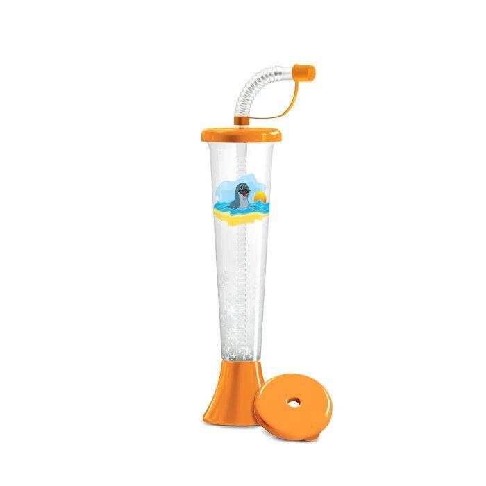 Kielich Foka 250 ml pomarańczowa 108 szt.