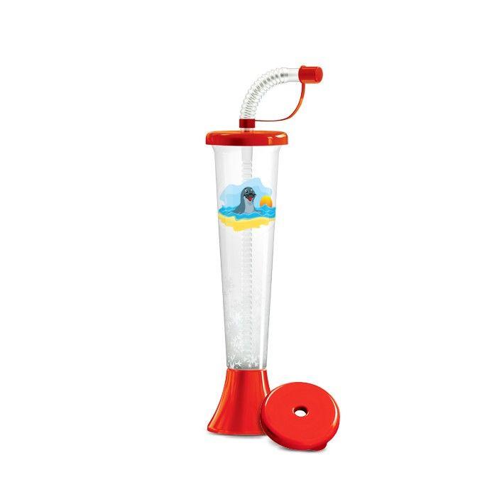 Kielich Foka 250 ml czerwona 108 szt.