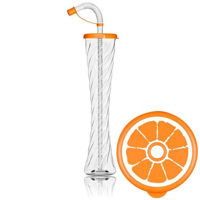 Kielich Cytrus 350ml pomarańczowy 54 szt.