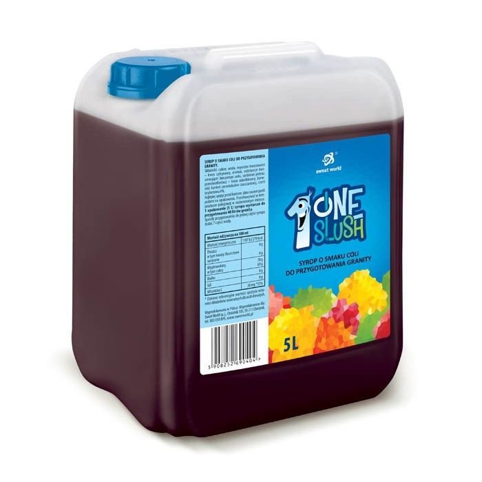 Syrop do granity o smaku coli (rozrabiamy 1:7 !) 5 litrów