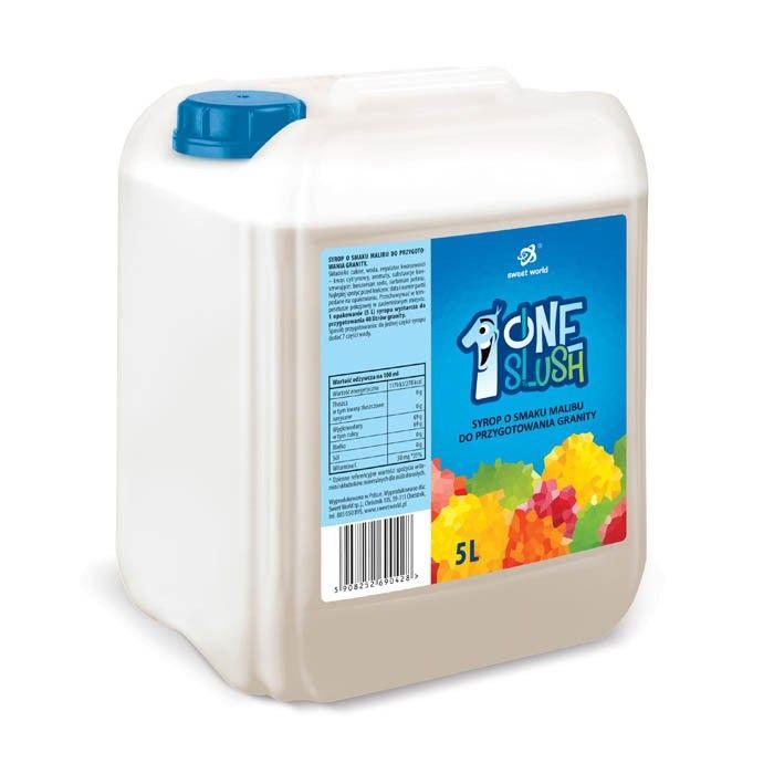 Syrop do granity o smaku malibu 5 litrów (rozrabiamy 1:7 !)