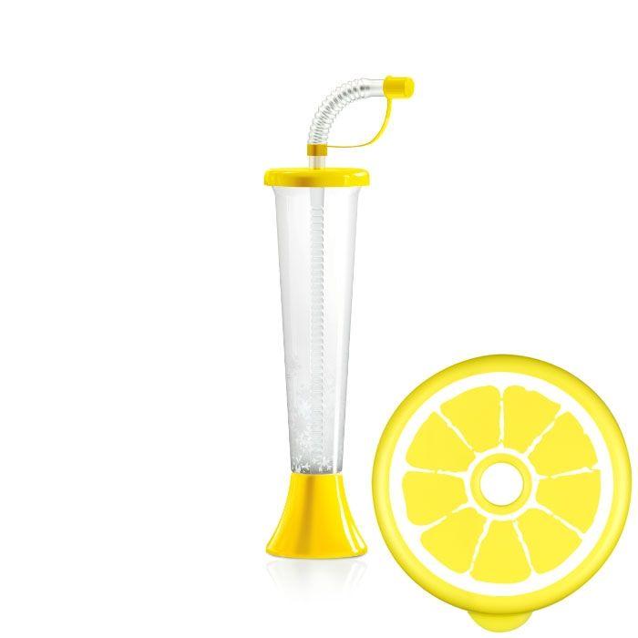 Kielich Cytrus 250 ml żółty 108 szt.